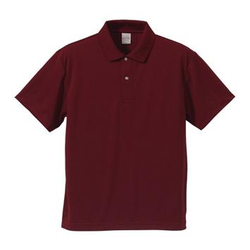 4.1オンスドライポロシャツ