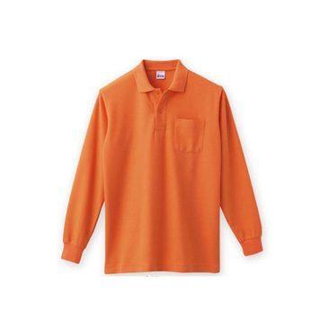 T/C長袖ポロシャツ(ポケット付)